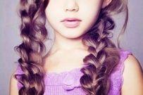 Các kiểu tóc xinh, dễ làm cho bé gái