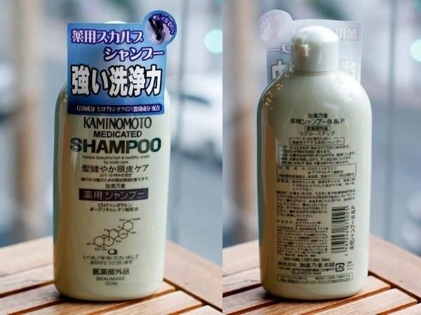 dau goi chong rung toc kaminomoto medicated shampoo