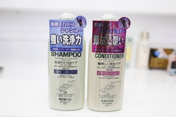 dau goi ngan rung toc tot va hieu qua nhat kaminomoto medicated shampoo