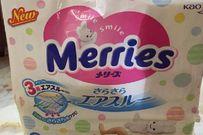Đánh giá tã dán Merries thương hiệu Nhật đang