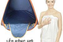 Top 3 sản phẩm Lều xông hơi giảm cân dành cho các mẹ sau sinh