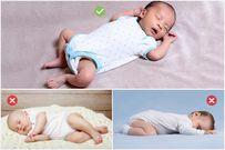 Cho trẻ sơ sinh ngủ sấp nguy hiểm thế nào mẹ có biết?