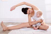 Giảm cân sau sinh 4 tháng với 4 bài tập thể dục hiệu quả dành cho chị em