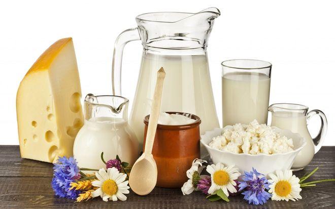 Chất béo có nhiều trong các thực phẩm từ sữa
