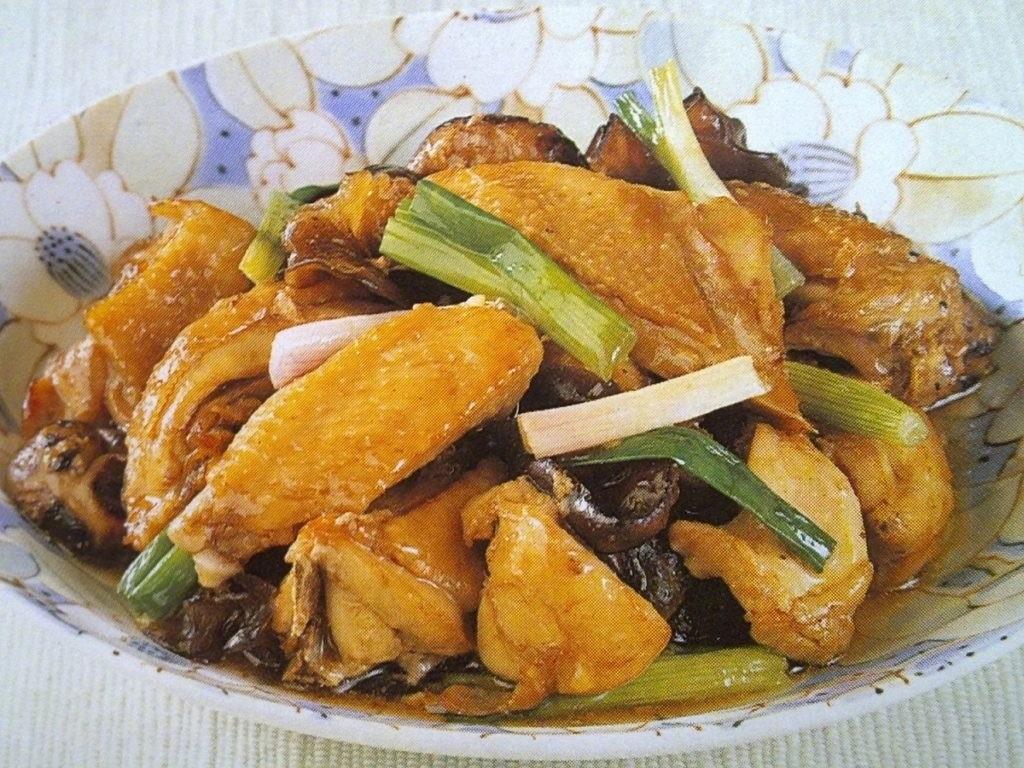 hương vị nhà làm của món gà
