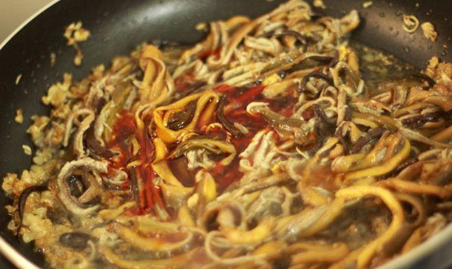 xào thịt lươn