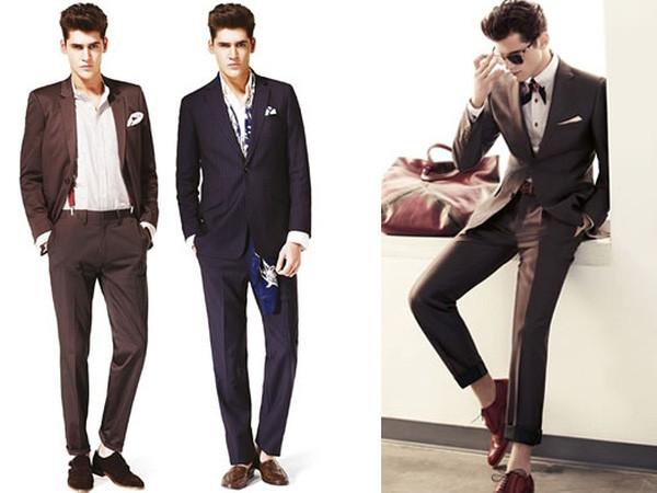 đàn ông nên mặc quần ống rộng