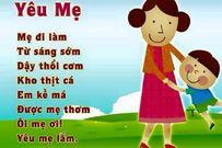 Những bài thơ dạy trẻ 3 tuổi học chữ hiệu quả mẹ có thể áp dụng