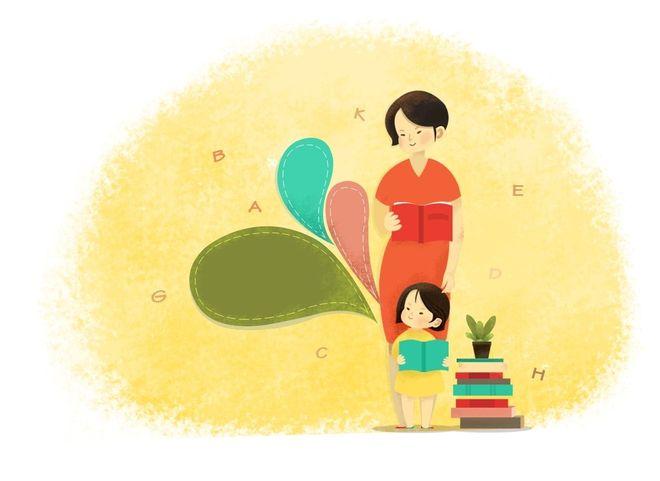 dạy con đọc sách
