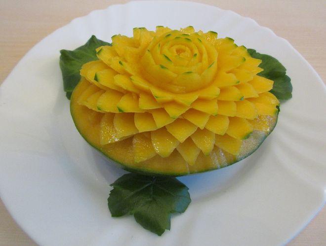 tỉa hoa quả từ quả xoài