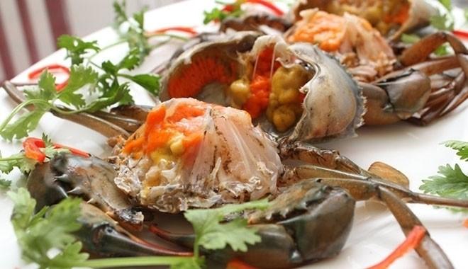 lưu ý khi ăn cua biển