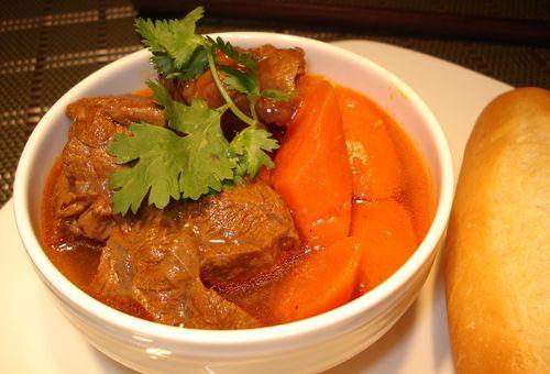 Bò kho cà rốt với cách nấu ngon