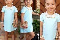 Nhóc tỳ ăn mặc sành điệu như người mẫu