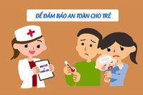 Trẻ tiêm phòng mũi 5 trong 1 bị sốt mẹ phải làm sao?