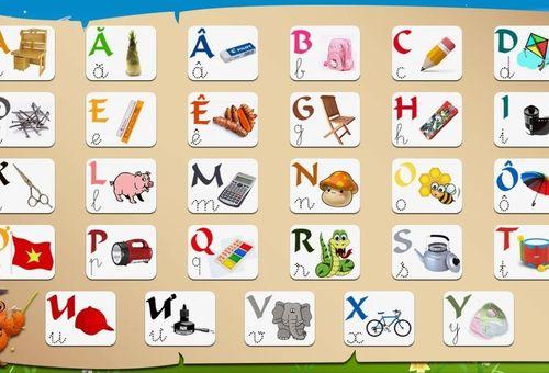 8 bí quyết giúp trẻ sớm thuộc bảng chữ cái