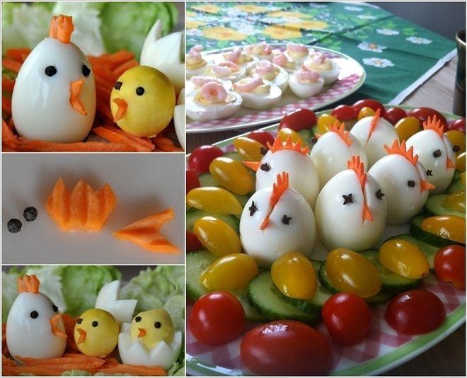 Trứng hình gà con