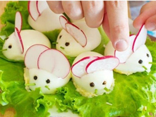 Trứng hình chuột con