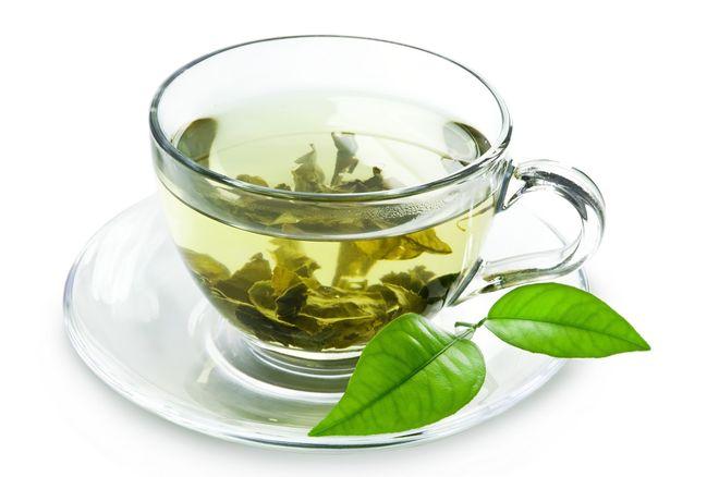 cốc trà xanh