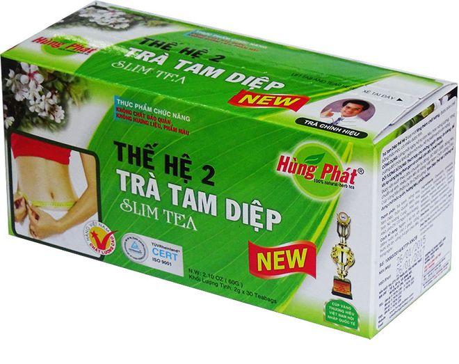 hop trà giảm cân tam điệp