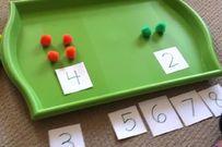 Tìm hiểu về phương pháp học toán Dot card cho trẻ dưới 3 tuổi