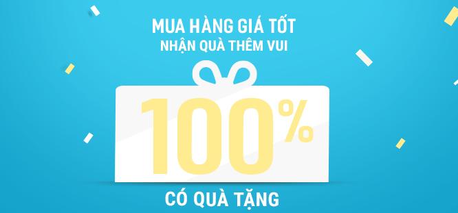 Mua hàng giá tốt - Giảm giá đến 50% các sản phẩm - 100% có quà tặng