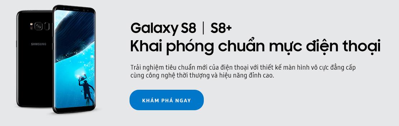 Điện thoại Samsung S8/ S8 Plus giảm giá 4 triệu