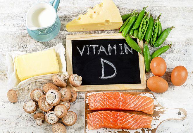 thực phẩm vitamin d