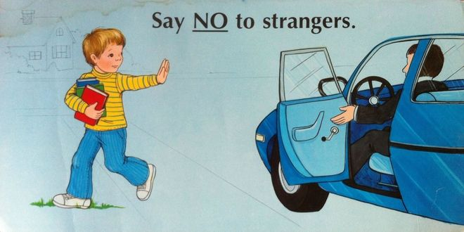 dạy trẻ từ chối người lạ