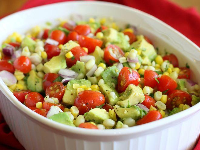 salad ngô