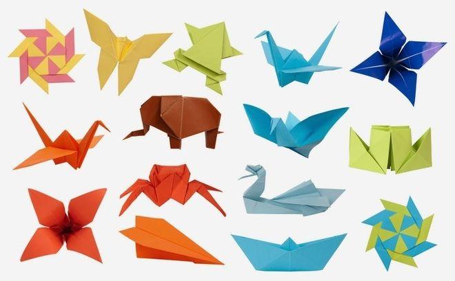 đồ chơi gấp bằng giấy origami