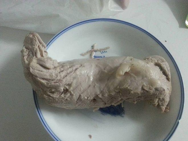 thịt lợn luộc