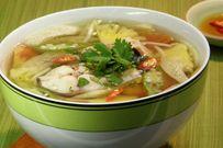Cách nấu canh chua cá thơm ngon bổ dưỡng không tanh cho bữa cơm gia đình