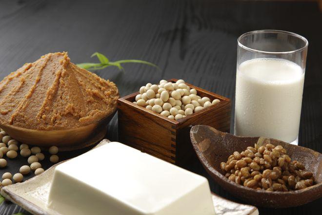 ăn thực phẩm được chế biến từ đậu nành cũng rất tốt