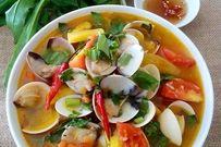 Cách nấu canh ngao chua ngon đơn giản với khế