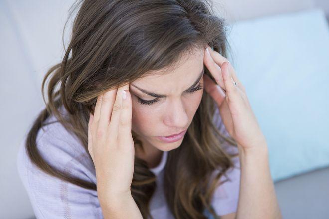 stress khiến mẹ khó ngủ