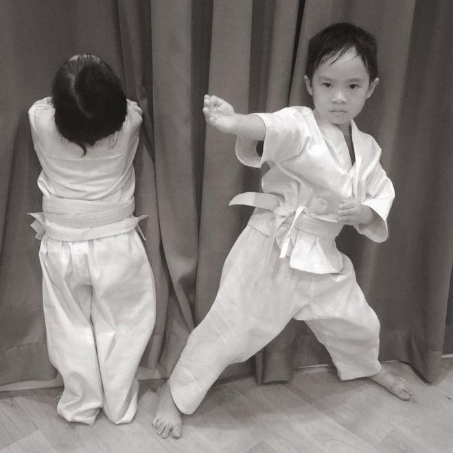 học võ giúp trẻ tự tin