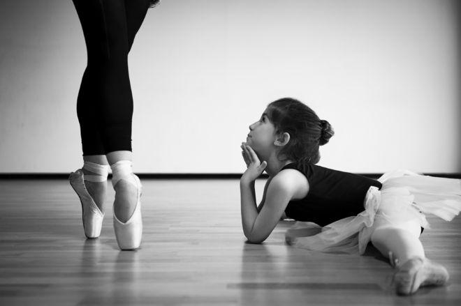 kỹ thuật đứng nhón gót múa ballet