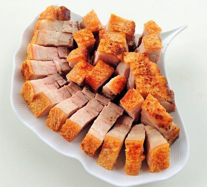 cách rán thịt lợn truyền thống