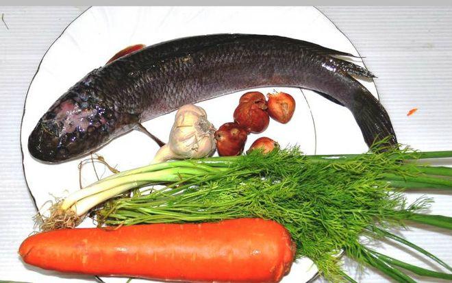 nguyên liệu làm cá hấp bia kiểu 3