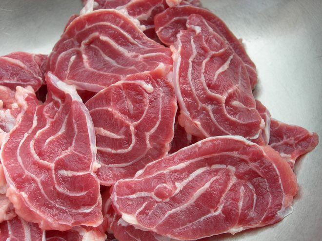 thịt bò tươi thái