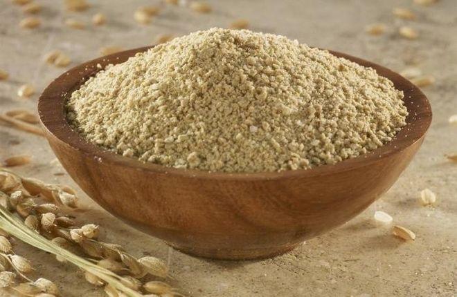 bột cám gạo xay bằng máy