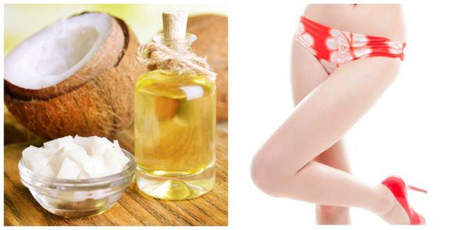 tinh dầu dừa trị rạn da