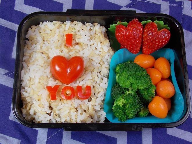 cơm bento i love you
