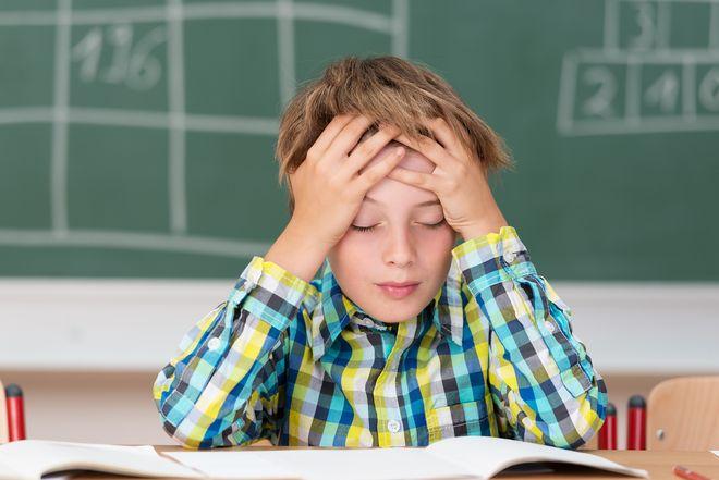 bé mất tập trung trong học tập