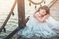 Ngắm vẻ đẹp thiên thần của bé gái 4 tuổi Dương Hải Vi
