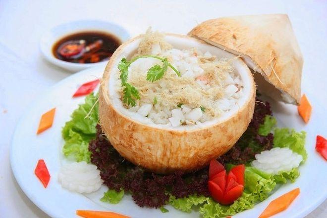 cách làm cơm dừa