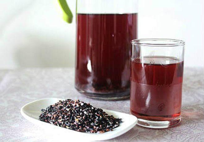 bột gạo lứt mè đen giúp giảm cân, lợi sữa