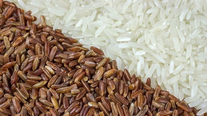 gạo lứt tốt hơn gạo trắng