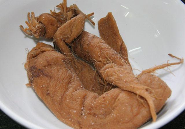 củ cải muối mặn khô
