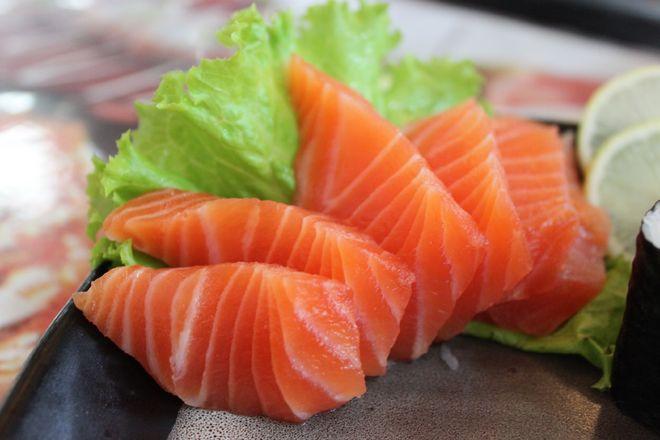 Cá hồi bổ sung DHA tốt cho thai nhi